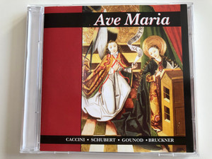 Ave Maria - Caccini, Schubert, Gounod, Bruckner / Allegro Thaler Audio CD 2000 / MZA-050