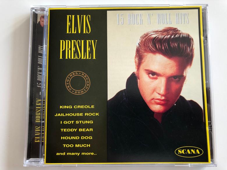 Elvis Presley – 15 Rock'n' Roll Hits / Scana Audio CD 1995 / 95038