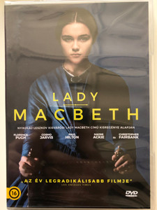 Lady Macbeth DVD 2016 / Directed by William Oldroyd / Starring: Florence Pugh, Cosmo Jarvis, Paul Hilton, Naomi Ackie (5999546338485)