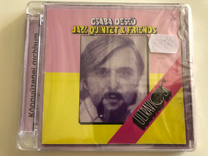 Csaba Deseő - Jazz Quintet & Friends – Ultraviola / Alexandra Records Audio CD 2009 / PDKCD0050
