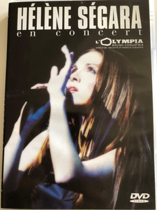 Héléne Ségara en concert DVD 2001 / Directed by Paulette & Patricia Coquatrix / Recorded live in october 2000 / B.G. Productions / Warner Vision France (0685738757824)