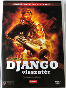 Django 2: Il grande ritorno DVD 1987 Django Strikes Again - Django Visszatér / Directed by Nello Rossati / Starring: Franco Nero, Christopher Connelly, Licia Lee Lyon, William Berger