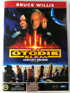 The Fifth Element DVD 1997 Az ötödik elem (Le Cinquième Élément) / Remastered edition / Directed by Luc Besson / Starring: Bruce Willis, Milla Jovovich, Gary Oldman, Ian Holm (-5998133189905)