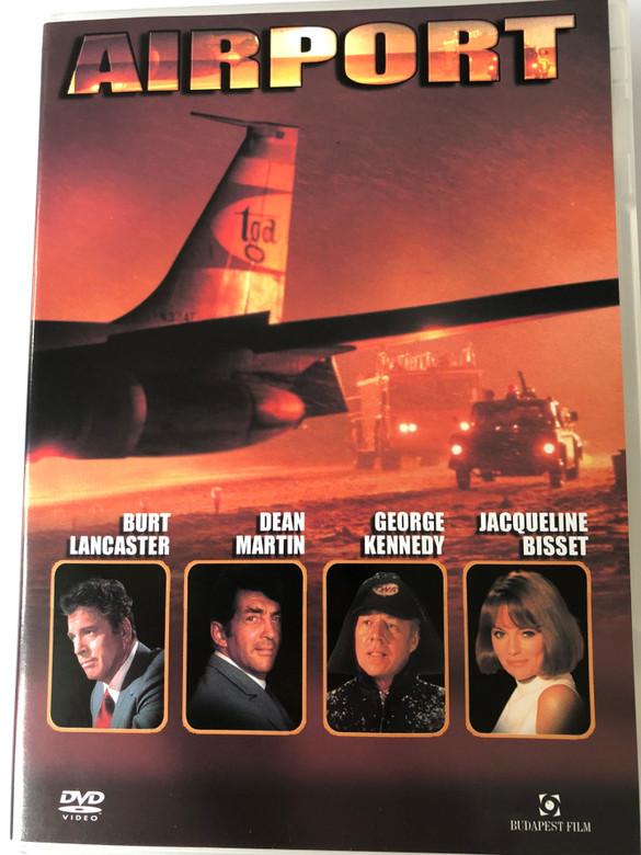 Airport DVD 1970 / Directed by George Seaton / Starring: Burt Lancaster, Dean Martin, Jean Seberg, Jacqueline Bisset (5999544253346)