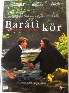 Circle of Friends DVD 1995 Baráti kör / Directed by Pat O'Connor / Starring: Chris O'Donnell, Colin Firth, Minnie Driver (5999546331585)
