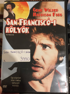 The Frisco Kid DVD 1979 San Franciscó-i Kölyök / Directed by Robert Aldrich / Starring: Gene Wilder, Harrison Ford (5999010460971)