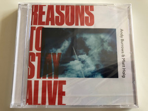 Reasons To Stay Alive - Andy Burrows & Matt Haig ‎/ Fiction Records Audio CD 2018 / RTSA002