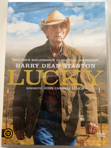 Lucky DVD 2017 / Directed by John Carroll Lynch / Starring: David Lynch, Ron Livingston, Ed Bergley Jr., Tom Skerritt (5999546338492)