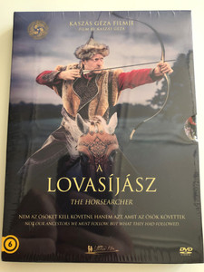 A Lovásíjász - The Horsearcher DVD 2016 / Directed by Kaszás Géza / Not our Ancestros we must follow, but what they had followed / Hungarian Documentary (5999016397646)