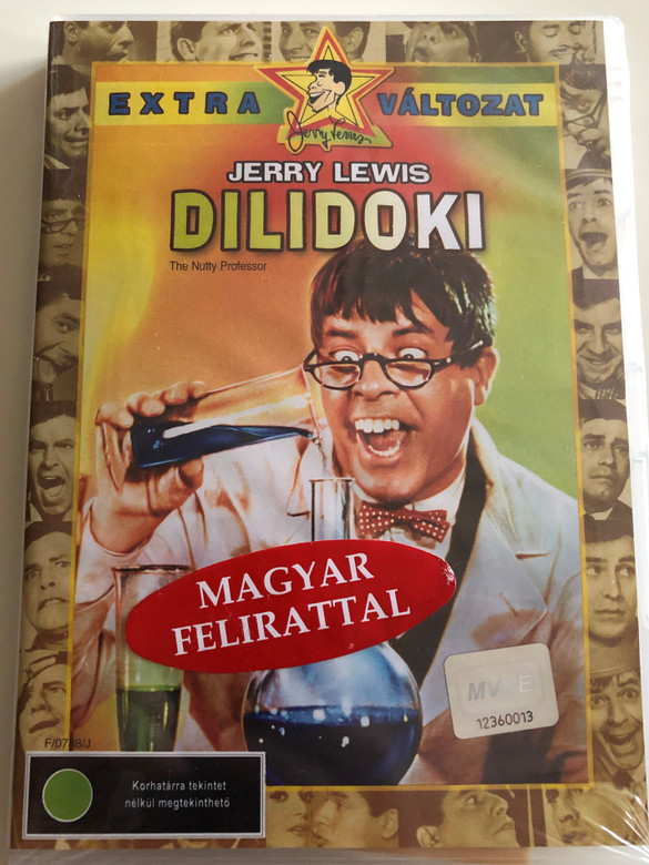The Nutty Professor DVD 1963 Dilidoki / Directed by Jerry Lewis / Starring: Jerry Lewis, Stella Stevens, Del Moore, Kathleen Freeman (5996255716238)