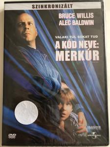 Mercury Rising DVD 1998 A Kód neve: Merkúr / Directed by Harold Becker / Starring: Bruce Willis, Alec Baldwin, Chi McBride, Kim Dickens (5996051040476)