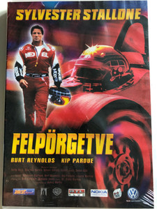 Driven DVD 2001 Felpörgetve / Directed by Renny Harlin / Starring: Sylvester Stallone, Burt Reynolds, Kip Pardue, Til Schweiger, Gina Gershon (5998133142832)