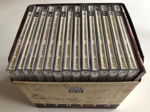Petőfi Sándor minden verse - 28 részből álló CD sorozat / 28 Audio CD / Magyar Rádió Rt. és a Magyar Millenniumi Kormánybiztosi Hivatal / Complete 861 Poems / 70 Actors (PetőfiSándorCDBox)