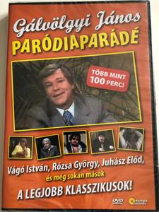 Gálvölgyi János Parodiaparádé DVD Hungarian Parody show / ER 9004 / Europa Records (5999557440061)