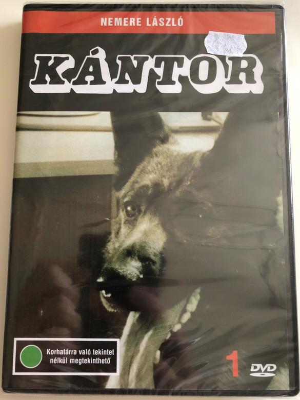 Kántor 1. DVD / Directed by Nemere László / Starring: Madaras József, Szilágyi Tibor, Horváth Sándor, Cserhalmi György (5996357312185)