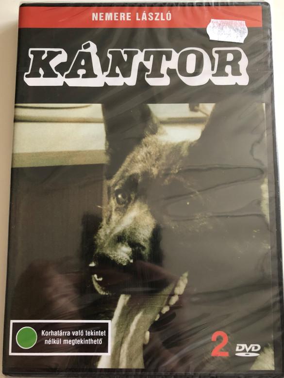 Kántor 2. DVD 1976 / Directed by Nemere László / Starring: Madaras József, Szilágyi Tibor, Horváth Sándor, Cserhalmi György / Black& White Hungarian movie (5996357312192)