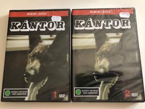 Kántor 1.+2. DVD SET 1976 / Directed by Nemere László / Starring: Madaras József, Szilágyi Tibor, Horváth Sándor, Cserhalmi György (Kántor2DVDSet)