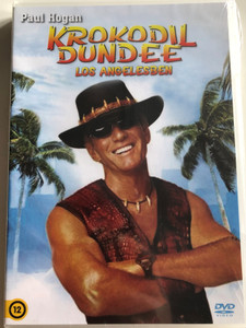 Crocodile Dundee in Los Angeles DVD 2001 Krokodil Dundee Los Angelesben / Directed by Simon Wincer / Starring: Paul Hogan, Linda Kozlowski, Jere Burns, Jonathan Banks (5999545581936)