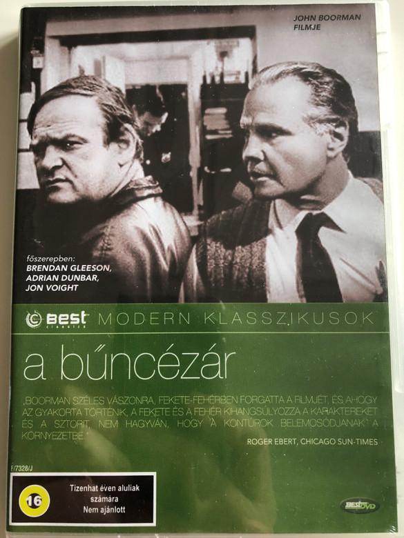 The General DVD 1998 A bűncézár / Directed by John Boorman / Starring: Brendan Gleeson, Adrian Dunbar, Jon Voight (5998133189530)