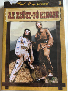 Treasure of the Silver Lake DVD 1962 Az ezüst-tó kincse / Directed by Harald Rein / Starring: Lex Barker, Pierre Brice / Karl May sorozat (5999883047958)