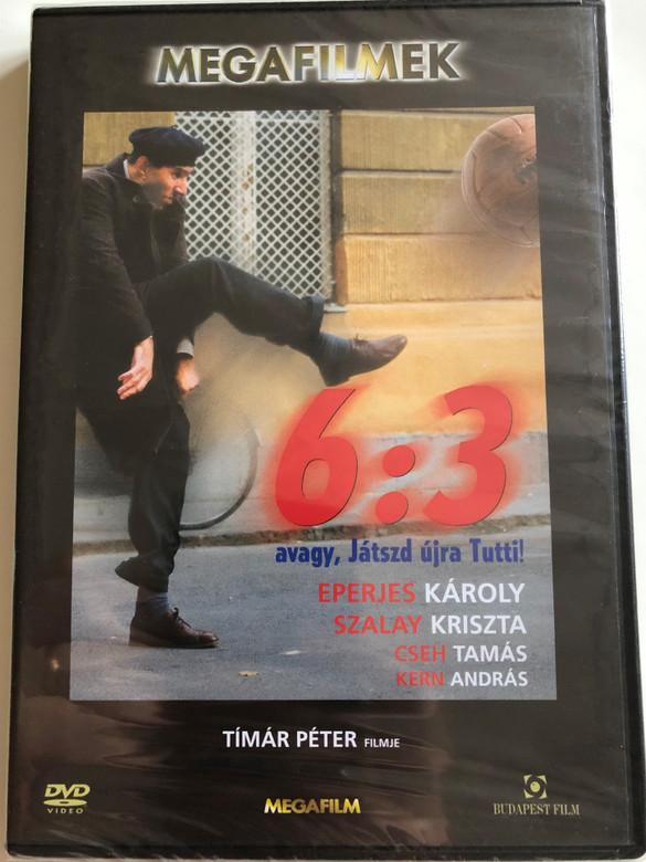 (Hat-három) 6:3 Avagy, Játszd újra Tutti DVD 1999 6:3 Play It Again Tutti / Directed by Péter Tímár / Starring: Eperjes Károly, Szalay Kriszta, Cseh Tamás / Hungarian comedy film (5999544242005)