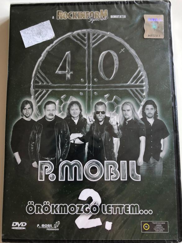 P. Mobil - Örökmozgó lettem... 2. DVD / Rockinform Special / 09866 RNR (5998557198668)