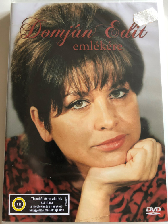 Domján Edit emlékére DVD In memory of Edit Domján, Hungarian Actress / Selection of Scenes (5996357343912)