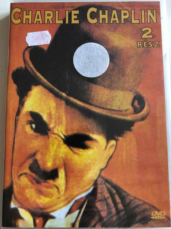 Charlie Chaplin 2 rész. DVD 2005 Charlie Chaplin part 2. / Black & White classic silent movie from 1915 (5999881767667)