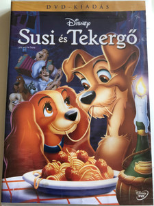 Lady and the Tramp DVD 1955 Susi és Tekergő / Directed by Clyde Geronimi, Wilfred Jackson, Hamilton Luske / Starring: Barbara Luddy, Larry Roberts, Bill Thompson, Dallas McKennon, Bill Baucom, Verna Felton, Peggy Lee (5996255737172)