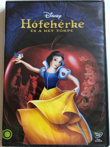 Snow White and the Seven Dwarfs DVD 1937 Hófehérke és a hét törpe / Directed by Ben Sharpsteen, David Hand, Perce Pearce, Larry Morey, William Cottrell, Wilfred Jackson / Starring: Adriana Caselotti, Lucille La Verne, Harry Stockwell (5996514018585)