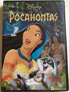 Pocahontas DVD 1995 / Directed by Mike Gabriel, Eric Goldberg / Starring: Irene Bedard, Mel Gibson, David Ogden Stiers, John Kassir, Russell Means (5996514012705)