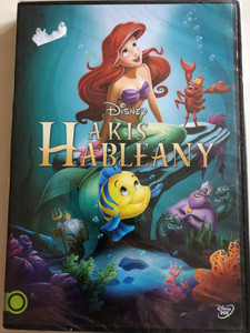 The Little Mermaid DVD 1989 A Kis Hableány / Directed by Ron Clements, John Musker / Starring: René Auberjonois, Christopher Daniel Barnes, Jodi Benson, Pat Carroll (5996514015386)