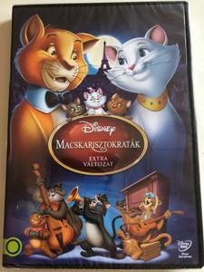 Aristocats Special Edition DVD 1970 Macskarisztokraták Extra Változat / Directed by Wolfgang Reitherman / Starring: Phil Harris, Eva Gabor, Hermione Baddeley, Gary Dubin, Dean Clark (5996514012903)