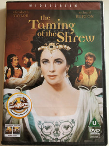 The Taming of the Shrew DVD 1967 La Bisbetica domata / Directed by Franco Zeffirelli / Starring: Elizabeth Taylor, Richard Burton, Natasha Pyne, Michael Hordern (5035822001534)