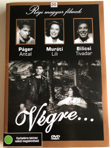 Végre DVD 1941 At last / Régi magyar filmek 20. / Directed by Farkas Zoltán / Starring: Muráti Lili, Páger Antal, Bilicsi Tivadar, Turay Ida / Hungarian Classic film