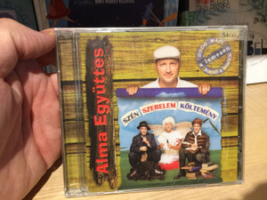 Alma Együttes – Szen Szerelem Koltemeny / Audio CD / 5999881923100