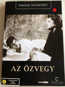La Veuve Couderc DVD 1971 Az özvegy / Directed by Pierre Granier-Deferre / Starring: Simone Signoret, Alain Delon / The Widow Couderc (5999554700519)