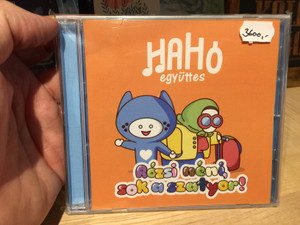 HaHo egyuttes - Rozsi neni, sok a szatyor! / Tom-Tom Records Audio CD 2019 / TTCD299