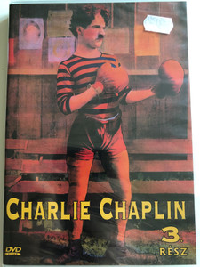 Charlie Chaplin 3 part. DVD 2005 Charlie Chaplin 3. rész / Black & White classic silent movie shorts from 1915-1916 (5999881767759)