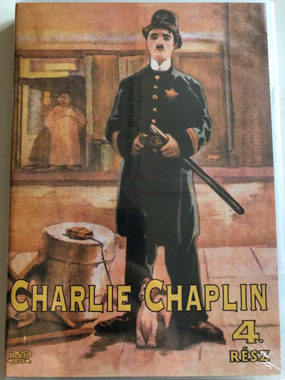 Charlie Chaplin 4 rész. DVD 2005 Charlie Chaplin part 4. / Black & White classic silent movie shorts from 1916 (5999881767797)