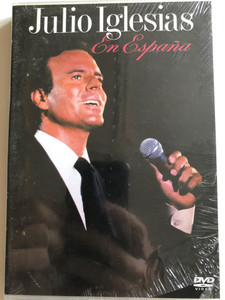 Julio Iglesias En España DVD 1989 Julio Iglesias in Spain / Directed by P.P Vila-San-Juan / Nou Camp de Barcelona / Live Concert from 1988 / Columbia / Col 2022619 (5099720226192)