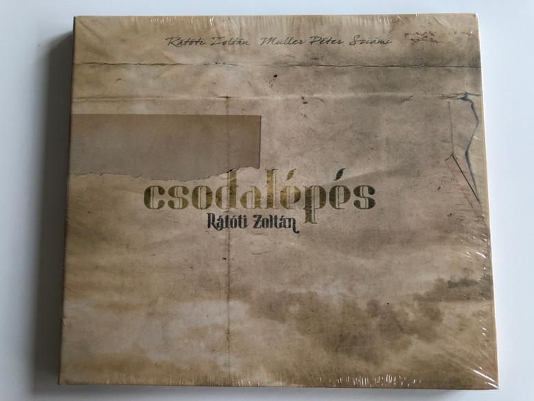 Csodalépés - Rátóti Zoltán / Gryllus Audio CD 2013 / GCD 125 - 2013