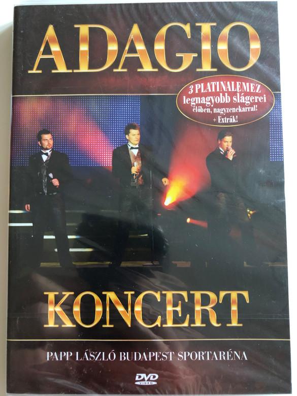 Adagio Koncert DVD 2008 Papp László Budapest Sportaréna / Sony BMG (886973486399)