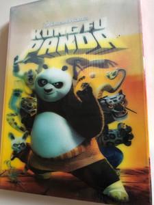 Kung Fu Panda DVD 2008 / Directed by John Stevenson, Mark Osborne / Starring: Jack Black, Dustin Hoffman, Angelina Jolie, Ian McShane, Seth Rogen, Lucy Liu (5996255726732)