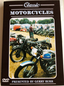 Classic Motorcycles DVD 2002 / Presented by Gerry Burr / Classic Bikes all over the Country / Arts Magic (5025682210153)