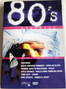 80's Memories DVD / Featuring 12 of the Very Best 80's Hits / Dexys Midnight Runners - Come on Eileen, Franki Goes to Hollywood - Relax, Dire Straits - Romeo & Juliet (801735405388)