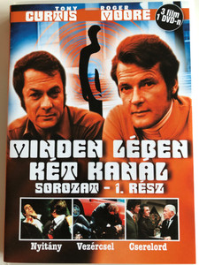 The Persuaders series vol 1. DVD 1971 Minden lében két kanál sorozat 1. rész / Directed by Leslie Norman, Roy Ward Baker, Basil Dearden, Val Guest / Starring: Roger Moore, Tony Curtis, Laurence Naismith / 3 episodes on DVD (5999545581578)
