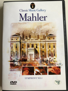 Mahler - Symphony No. 1 DVD 2003 Classic Music Gallery / Ljubljana Symphony Orchestra / Conducted by Anton Nanut / Classical music with video scenes of nature (8712155087776)