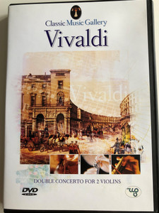 Vivaldi - Double Concerto for 2 Violins DVD 2003 Chamber Orchestra von der Goltz / Conducted by Conrad von der Goltz, Klaus Lieb / Stuttgart Chamber Orchestra / Conducted by Martin Steghart / Classical music with video scenes of nature (8712155087769)