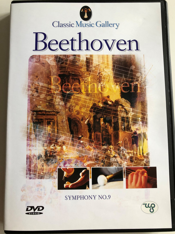 Beethoven - Symphony No. 9 DVD Classic Music Gallery / London Festival Orchestra / Conductor: Alberto Lizzio / Classical music with video scenes of nature (8712155087745)